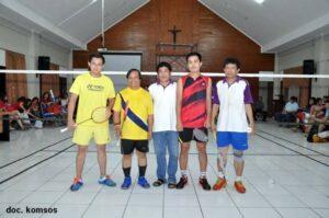Turnamen Bulutangkis HSPMTB Cup Ke-3 2015
