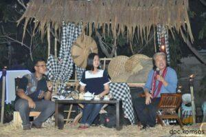 talk show bersama Bpk.Arsuendo dan Maria Felicia