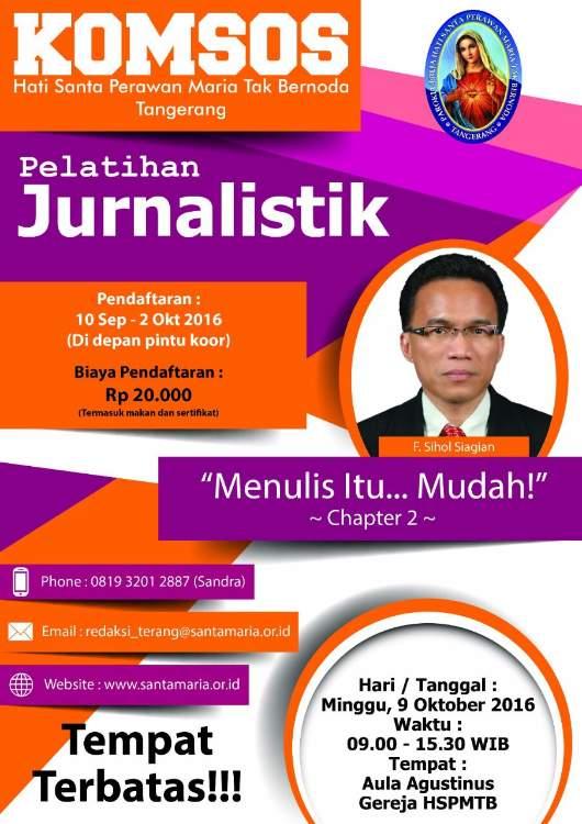 Pelatihan Jurnalistik 2016