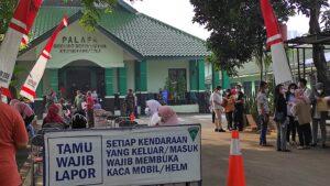 Vaksin Massal KODIM 0506 Tangerang